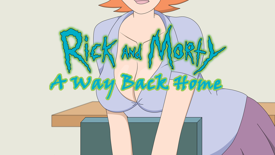 rick and morty parody porn game